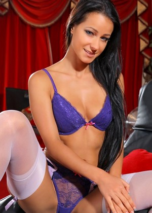Artlingerie Kristina U Banned Brunette Chest Pain