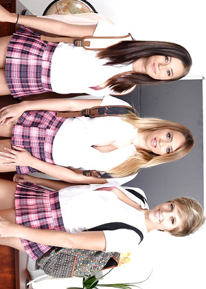 Bigtitsatschool Bigtitsatschool Model Ex Clothed Shawed