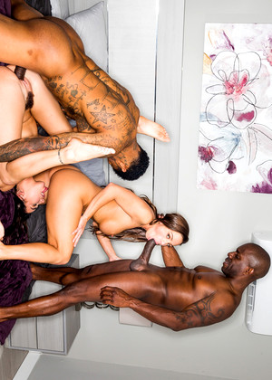 Blackedraw Karlee Grey Abigail Mac Nakedgirl Group Sex Grip Gand