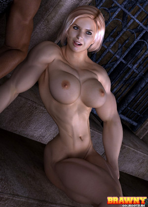 free sex photo 10 Brawny3d Model bounce-muscle-babes-dressing brawny3d