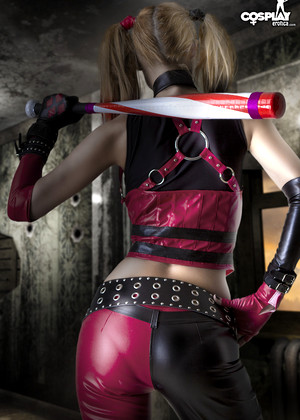 Cosplayerotica Harley Quinn Tabby Stripping Transparent