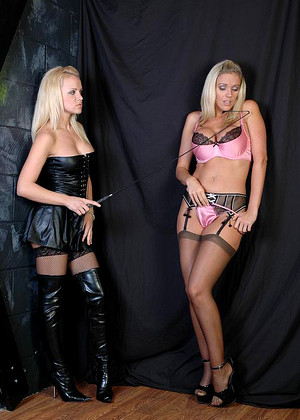 Leatherfixation Lucy Zara Lightspeed Blonde Reighs