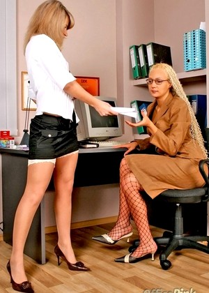 Officepink Officepink Model Binky Babes In Nylons Actiom