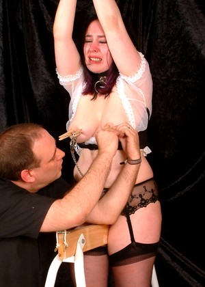 Thepainfiles Nimue Transparent Kinky Maid Brazzer Thumbnail