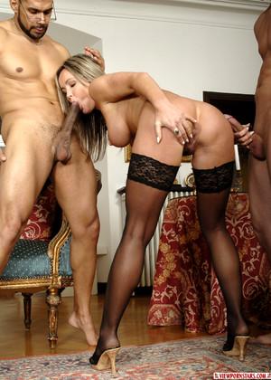 Pornstar envy threesome are