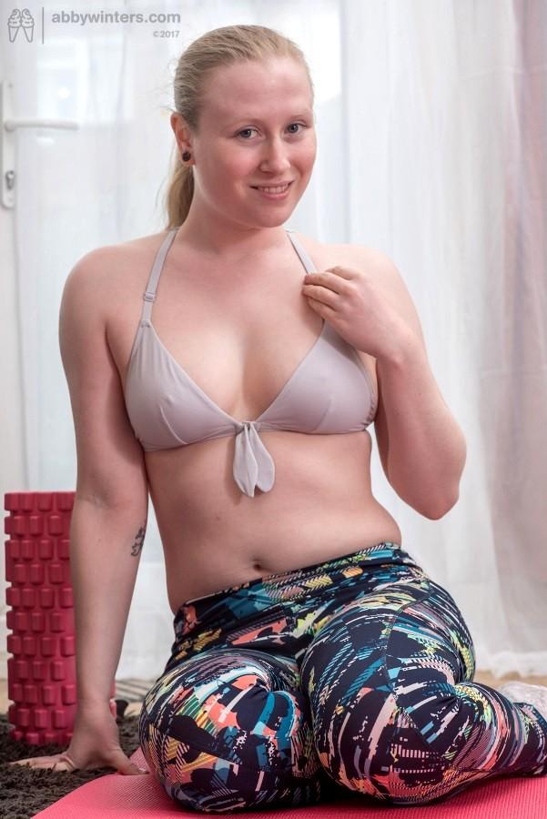 Free Sex Photos Abby Winters Abbywinters Model Dp Yoga 13 Porn