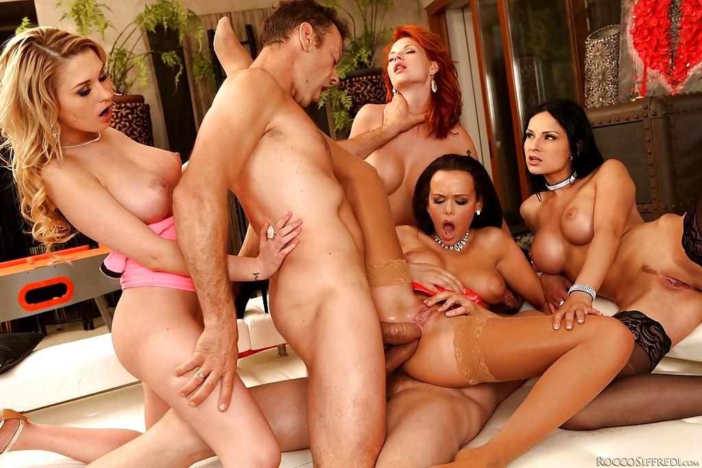Redtube pornstar orgy