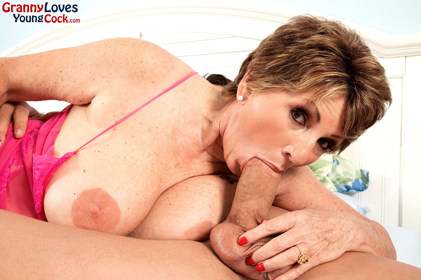 See and save as granny clare loves young cock porn pict