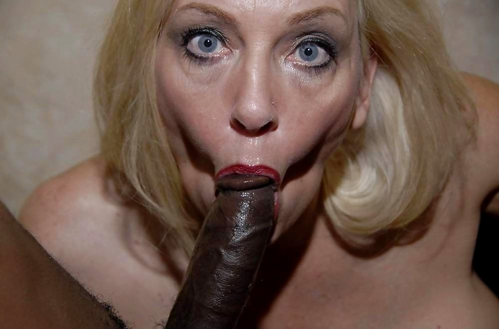 Mature blonde mom bbc